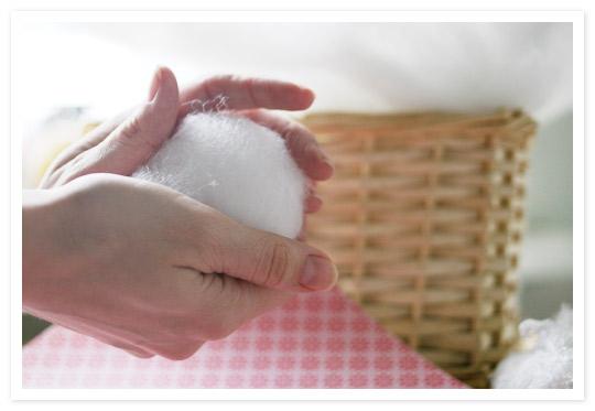 Снежок из ваты своими руками фото
